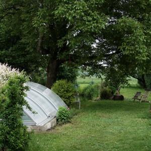 Galerie - Garten mit Pool beim alten Nussbaum